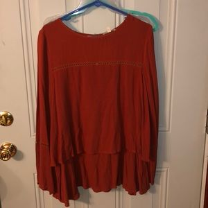 Long sleeve boutique top